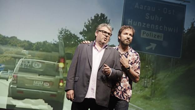 Suchen in der Geschichte der Autobahn nach den Spuren in die Gegenwart: die Brüder Mike und Tobi Müller