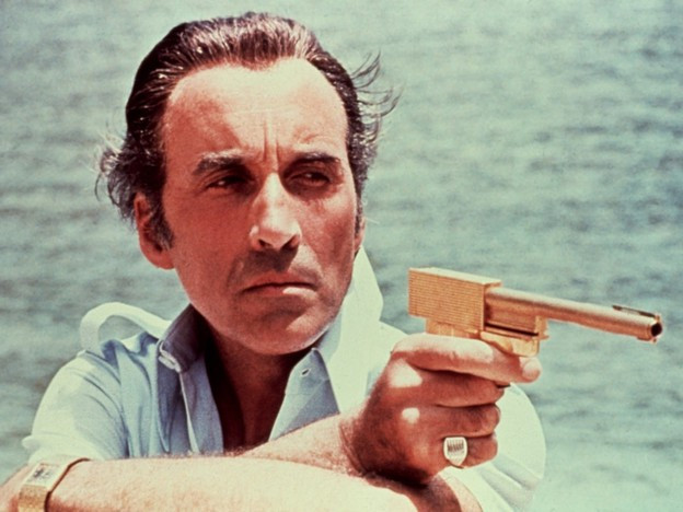 "Christopher Lee im James-Bond-Film ""The Man with the Golden Gun"" (1974)"