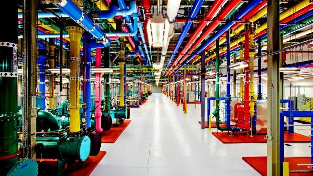 Einer von acht Google Daten-Speicher in Douglas County, Colorado.