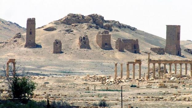Die syrische Ruinenstadt Palmyra