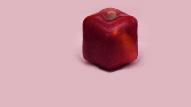 Ein genmanipulierter Apfel