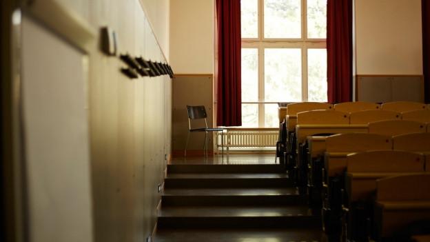 Ein Vorlesungssaal an der Uni Zürich.