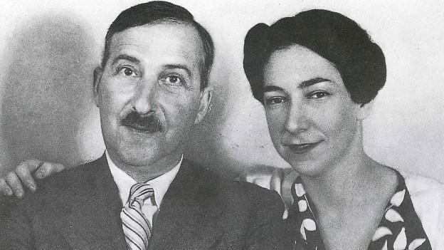 Stefan und Lotte Zweig.