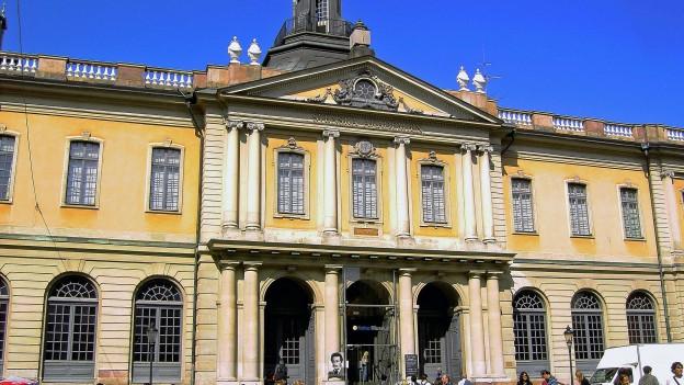 Aussenaufnahme der Schwedischen Akademie in Stockholm.