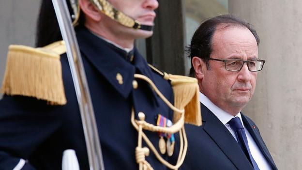 Der französische Präsident Francois Hollande.