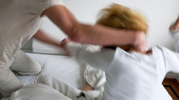 Häusliche Gewalt (Symbolbild).