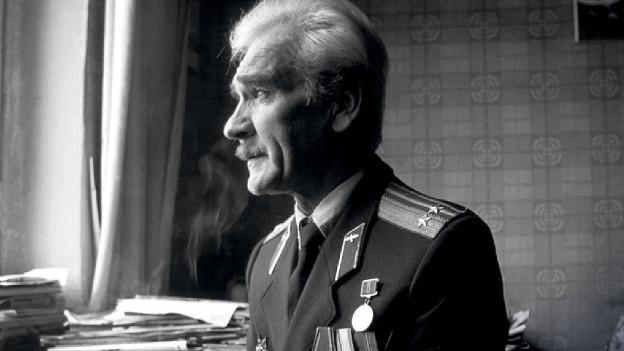 Schwarzweiss-Fotografie von Stanislaw Petrow.