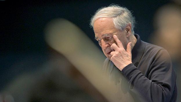 Pierre Boulez, 2005.