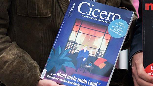 Titelblatt des Magazins Cicero.