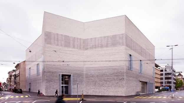 Tolle Hülle: Der Erweiterungsbau des Basler Kunstmuseums
