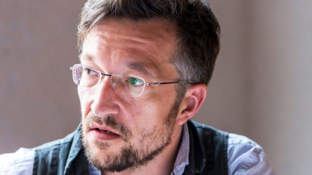 Porträt des Schriftstellers Lukas Bärfuss