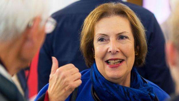 Porträt der ehemaligen Politikerin Christine Egerszegi.