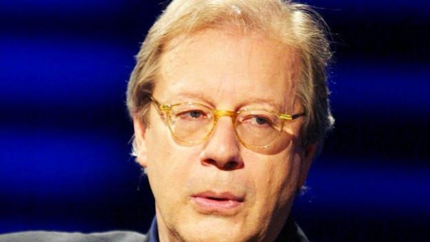 Porträt von Georg Kohler, Professor für politische Philosophie.