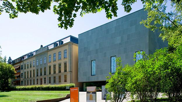 Aussenansicht des Kunsthaus Centre PasquArt