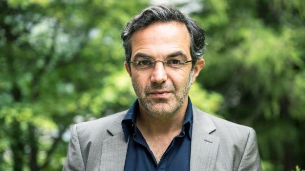 Porträt des Schriftstellers Navid Kermani