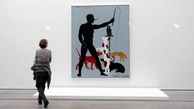 Werk von Francis Picabia in der Fondation Beyeler in Riehen.