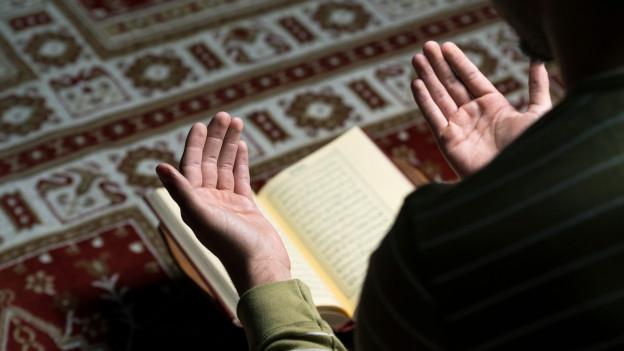 Muslim beim Beten