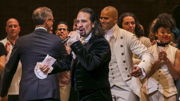 Das Ensemble von «Hamilton».