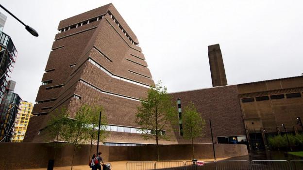 Der Neubau der Tate Modern von aussen.