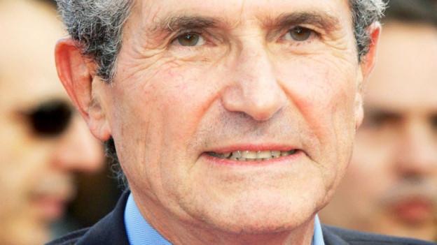 Porträt des Regisseurs Claude Lelouch.