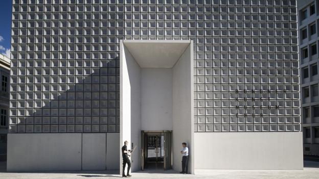 Das neue Gebäude des Kunstmuseum Chur.