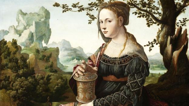 Maria Magdalena Abbildung von Jan van Scorel