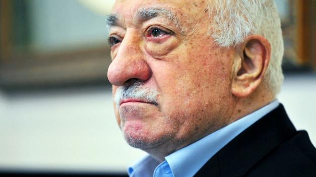 Porträt von Fethullah Gülen