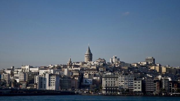 Blick auf Beyoglu.