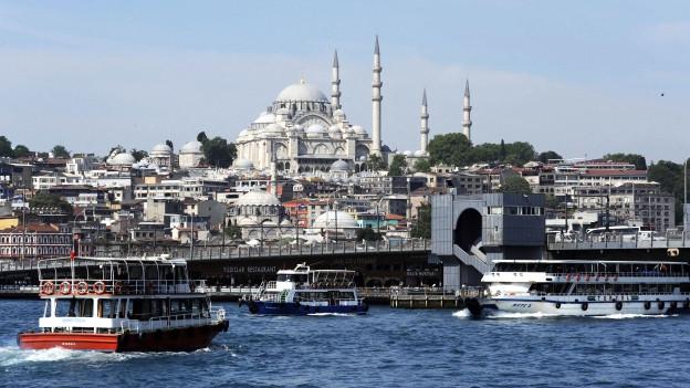 Symbolbild: Altstadt von Istanbul.