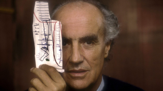 Der Komponist Luigi Nono.
