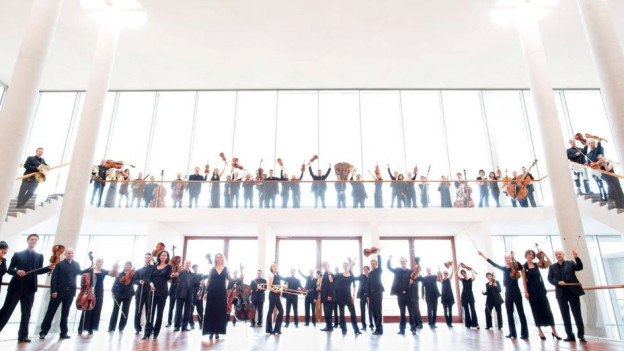 Das fusionierte SWR Sinfonieorchester gibt sein erstes Konzert