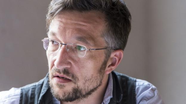 Den Autor Lukas Bärfuss interessieren die schwierigen Themen.