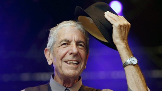 Der kanadische Sänger Leonard Cohen ist 82-jährig gestorben.