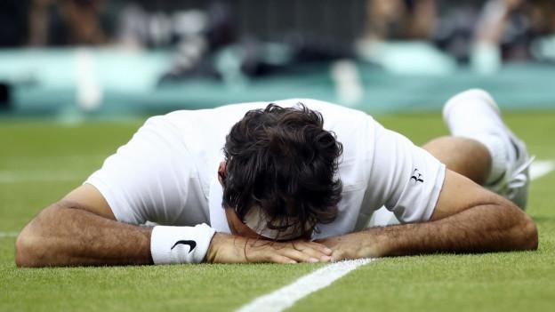 Scheitern ist menschlich: Selbst die Schweizer Tennislegende Roger Federer musste lernen mit Niederlagen umzugehen.