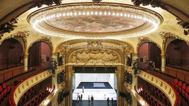 Das Berner Stadttheater wurde während acht Monaten renoviert.