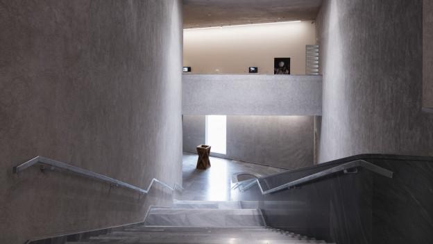 Ein Treppenhaus im Kunstmuseum Basel.