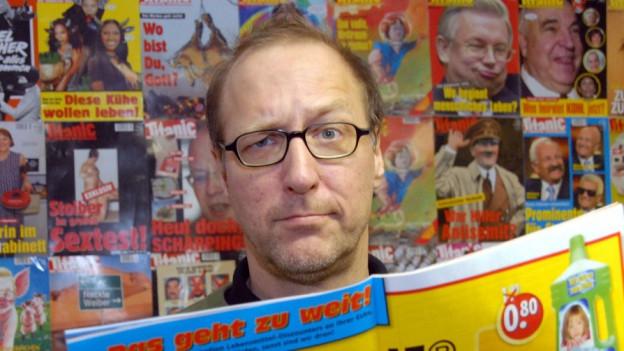 Thomas Gsella ist Lyriker und früher Chefredaktor der Satirezeitschrift «Titanic».