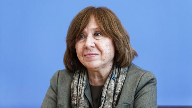 Svetlana Alexijewitsch.