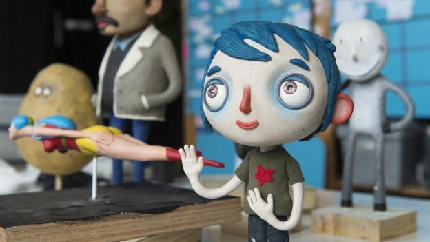 Der Animationsfilm «Ma vie de Courgette»