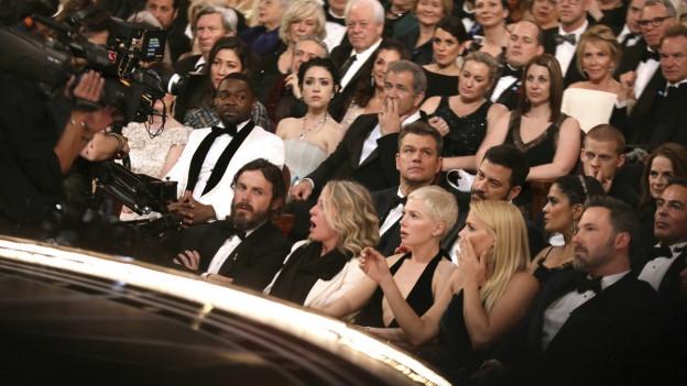 Foto des Publikums der Oscar-Verleihung
