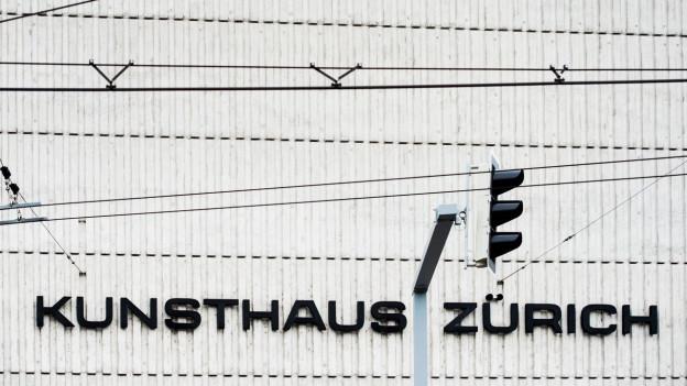 Fassade des Kunsthauses Zürich