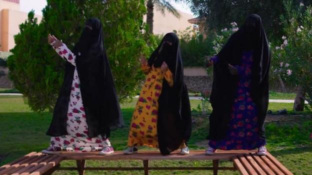 Ein Video geht viral: Frauen in Saudi-Arabien rufen zum Widerstand auf.