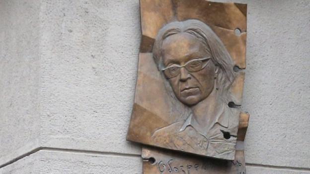 Die Journalistin Anna Politkowskaja wurde am 7. Oktober 2006 in Moskau ermordet.