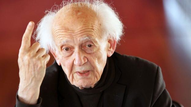 Porträt von Zygmunt Bauman.