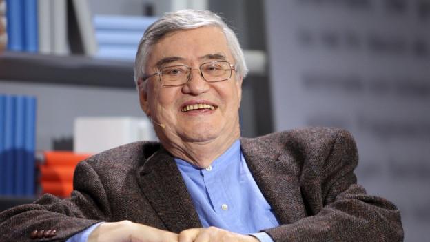 Der Schriftsteller und Kinderbuchautor Peter Härtling war auch ein Flüchtlingskind.