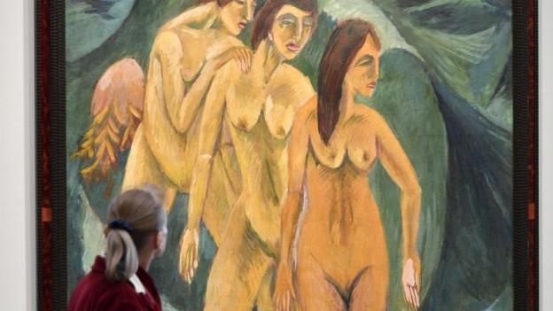 Das Kunsthaus Zürich stellt Werke des deutschen Expressionisten Ernst Ludwig Kirchner aus.