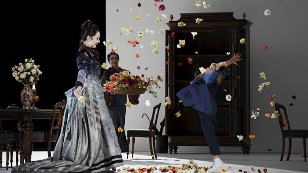 Szene aus «Madame Butterfly» am Opernhaus Zürich