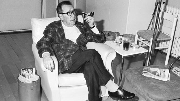 Der Autor Georges Simenon.