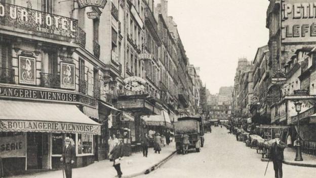 Paris im Jahr 1925