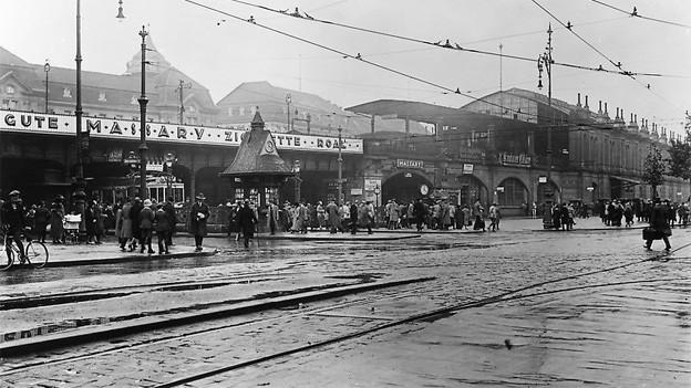 Der Bahnhof Zoologischer Garten in Berlin 1925